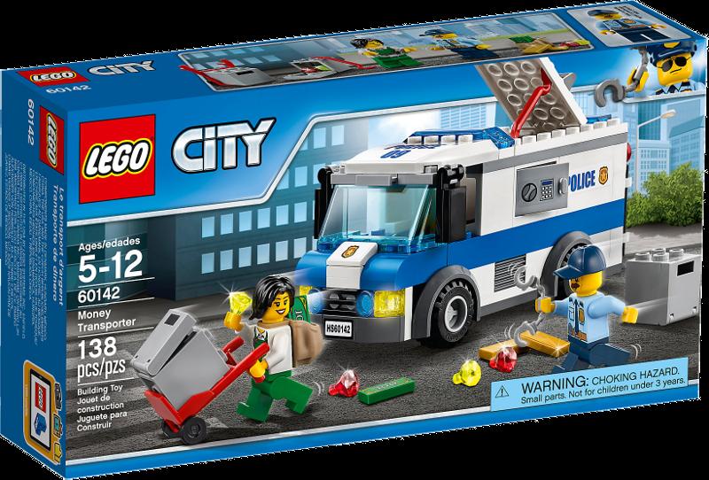 LEGO® City 60142 - Geldtransporter