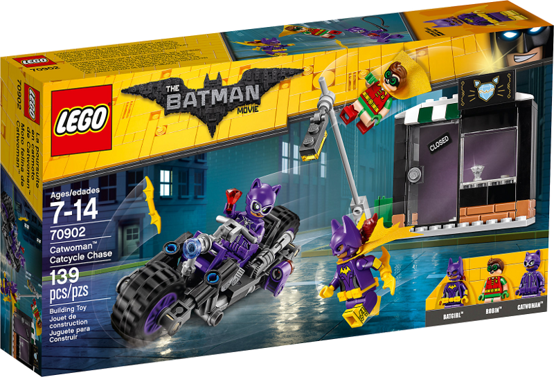 LEGO® Batman Movie 70902 - Catwoman™: Catcycle-Verfolgungsjagd