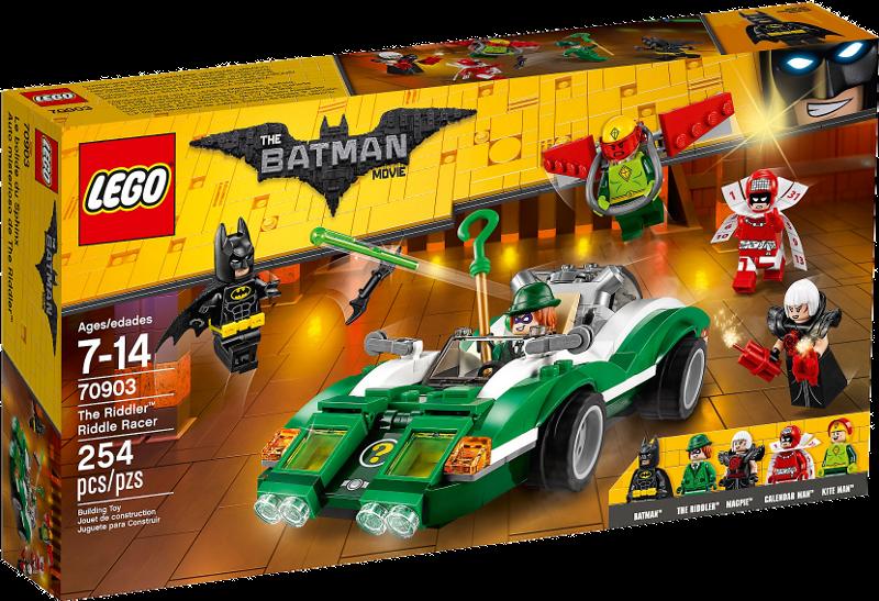 LEGO® Batman Movie 70903 - The Riddler™: Riddle Racer
