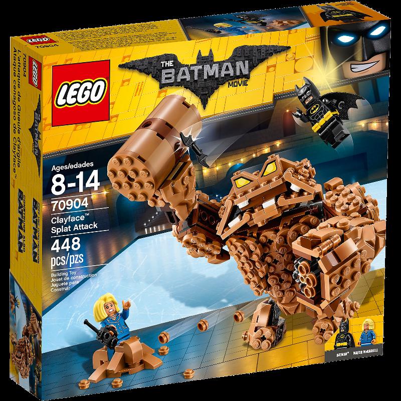 LEGO® Batman Movie 70904 - Clayface™: Matsch-Attacke