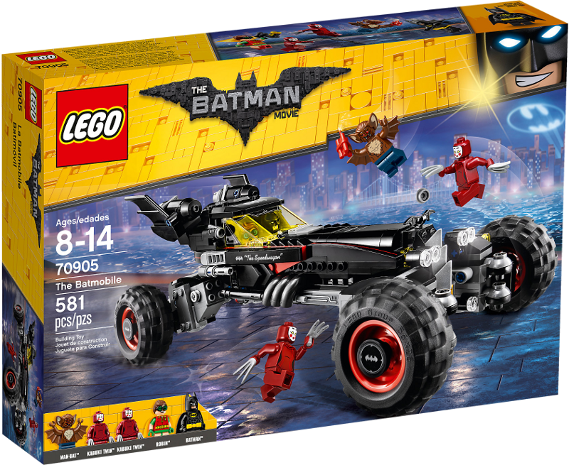 LEGO® Batman Movie 70905 - Das Batmobil
