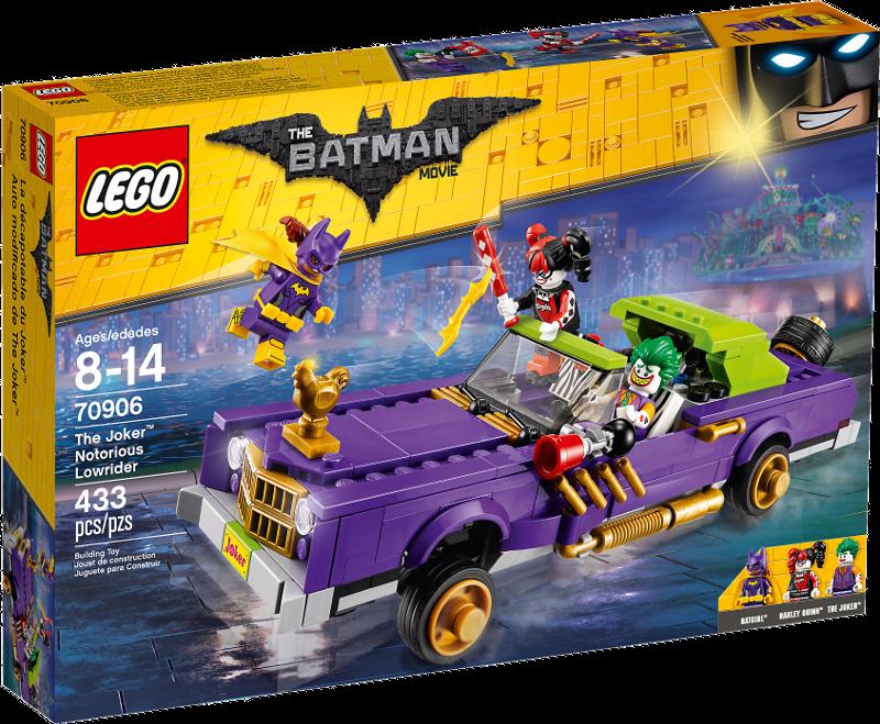 LEGO® Batman Movie 70906 - Jokers berüchtigter Lowrider