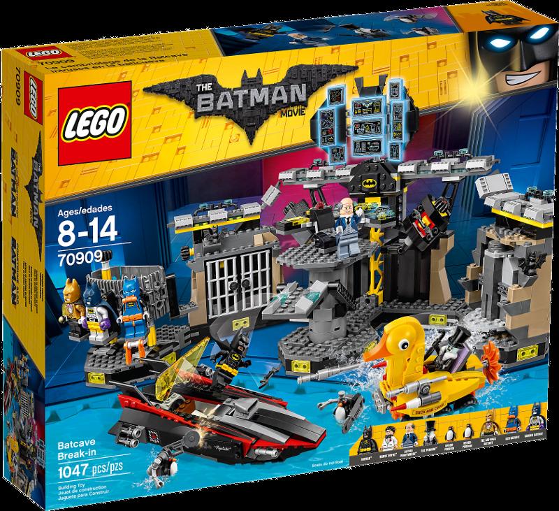 LEGO® Batman Movie 70909 - Batcave-Einbruch