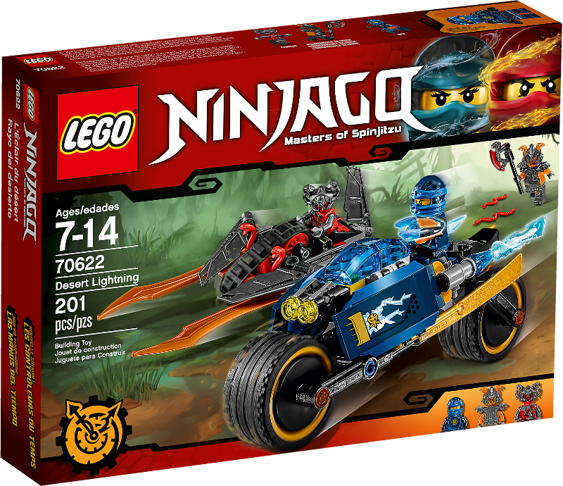 LEGO® NINJAGO® 70622 - Wüstenflitzer