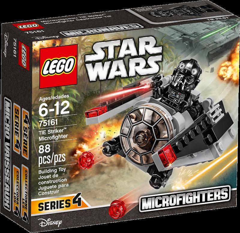 LEGO® Star Wars 75161 - TIE Striker™ Microfighter