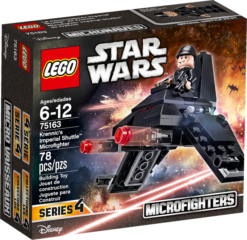 LEGO® Star Wars 75163 - Krennic's Imperial Shuttle™ Microfighter