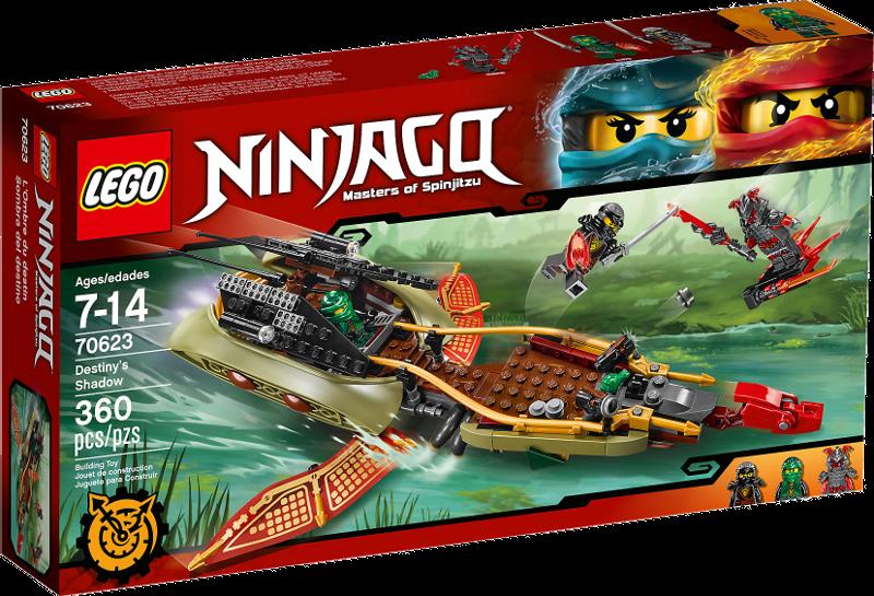LEGO® NINJAGO® 70623 - Schatten des Ninja-Flugseglers