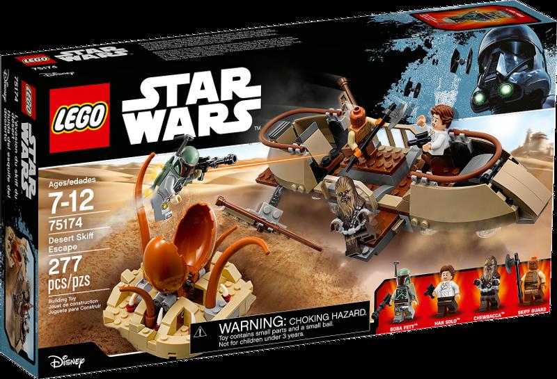 LEGO® Star Wars 75174 - Desert Skiff Escape