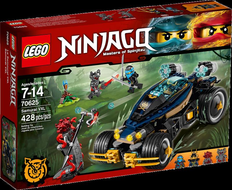 LEGO® NINJAGO® 70625 - Samurai Turbomobil
