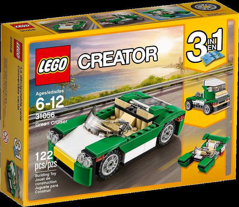 LEGO® Creator 31056 - Grünes Cabrio