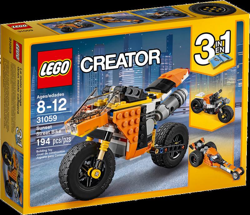 LEGO® Creator 31059 - Straßenrennmaschine