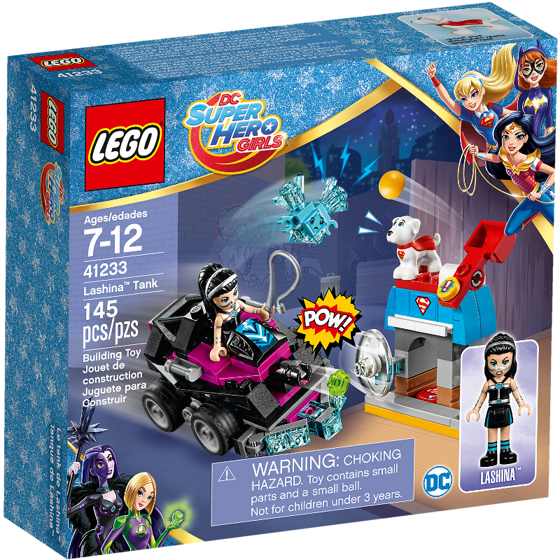 LEGO® Super Hero Girls 41233 - Lashinas Action-Cruiser