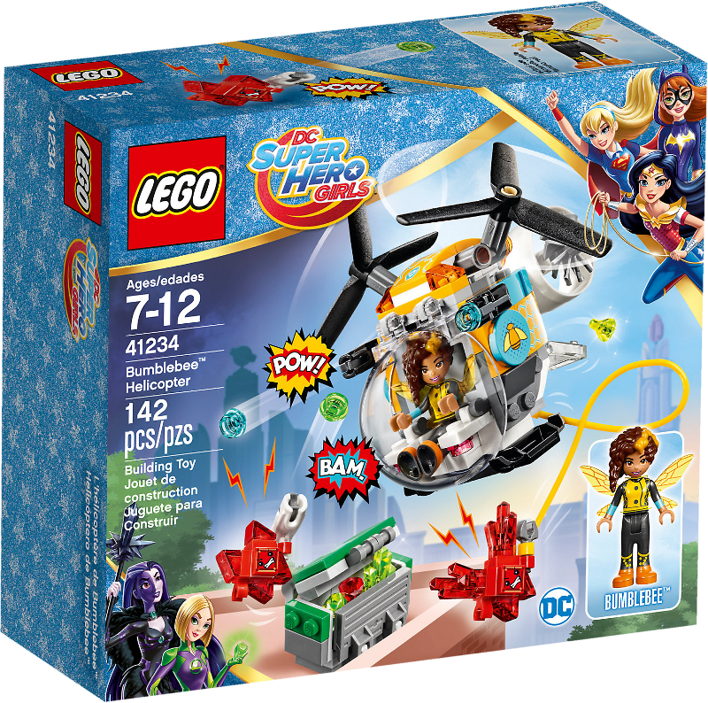 LEGO® Super Hero Girls 41234 - Bumblebees™ Hubschrauber