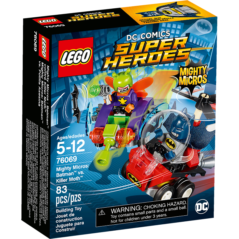 LEGO® Super Heroes 76069 - Mighty Micros: Batman™ vs. Killer Moth™
