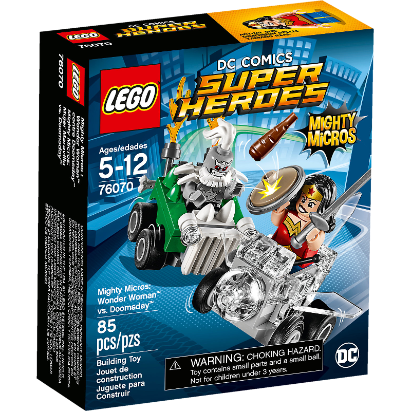 LEGO® Super Heroes 76070 - Mighty Micros: Wonder Woman™ vs. Doomsday™