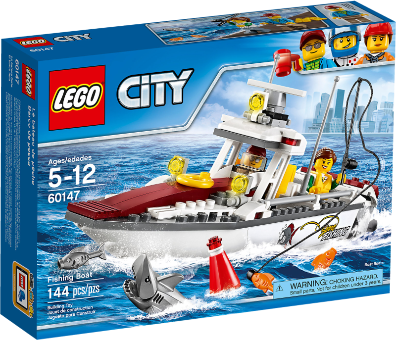 LEGO® City 60147 - Angelyacht