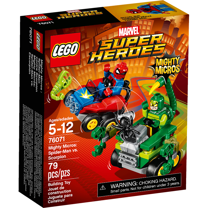 LEGO® Super Heroes 76071 - Mighty Micros: Spider-Man vs. Scorpion