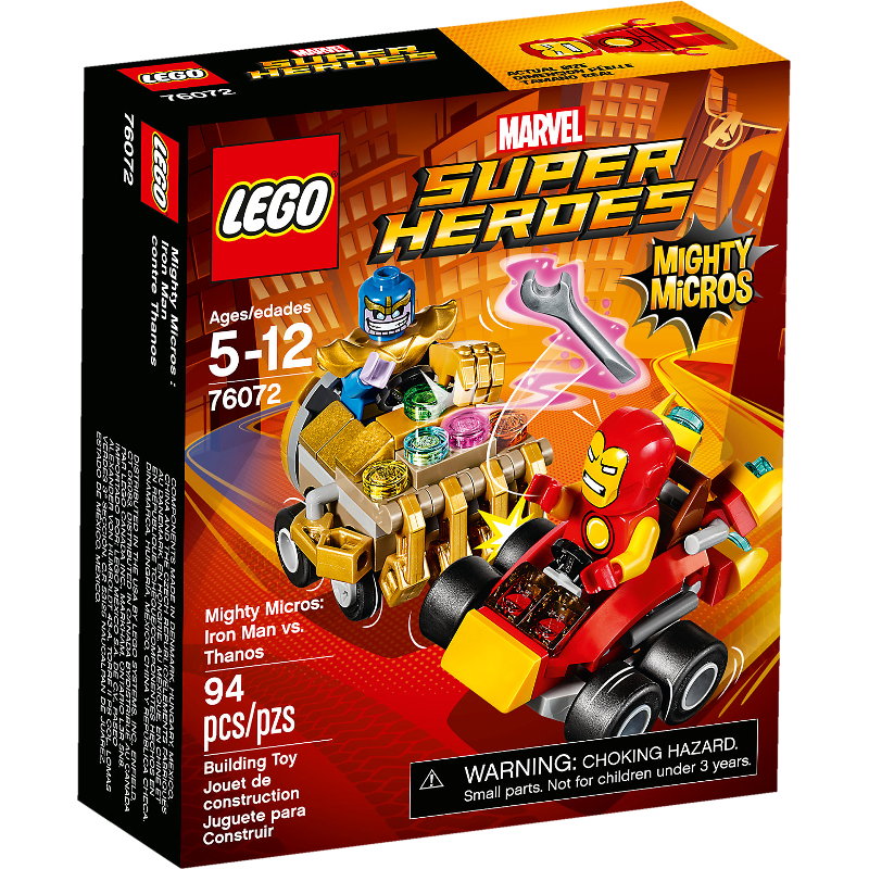 LEGO® Super Heroes 76072 - Mighty Micros: Iron Man vs. Thanos