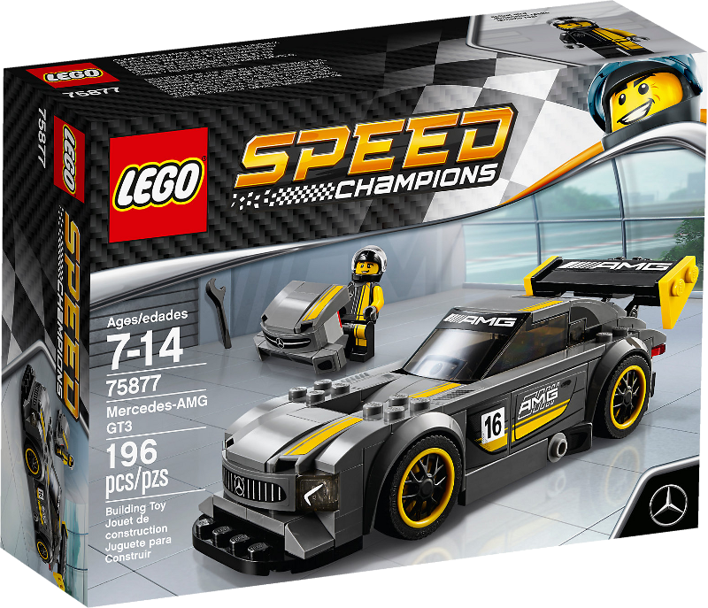 LEGO® Speed Champions 75877 - Mercedes-AMG GT3