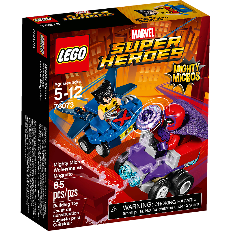 Lego Super Heroes 76073 - Mighty Micros: Wolverine vs. Magneto