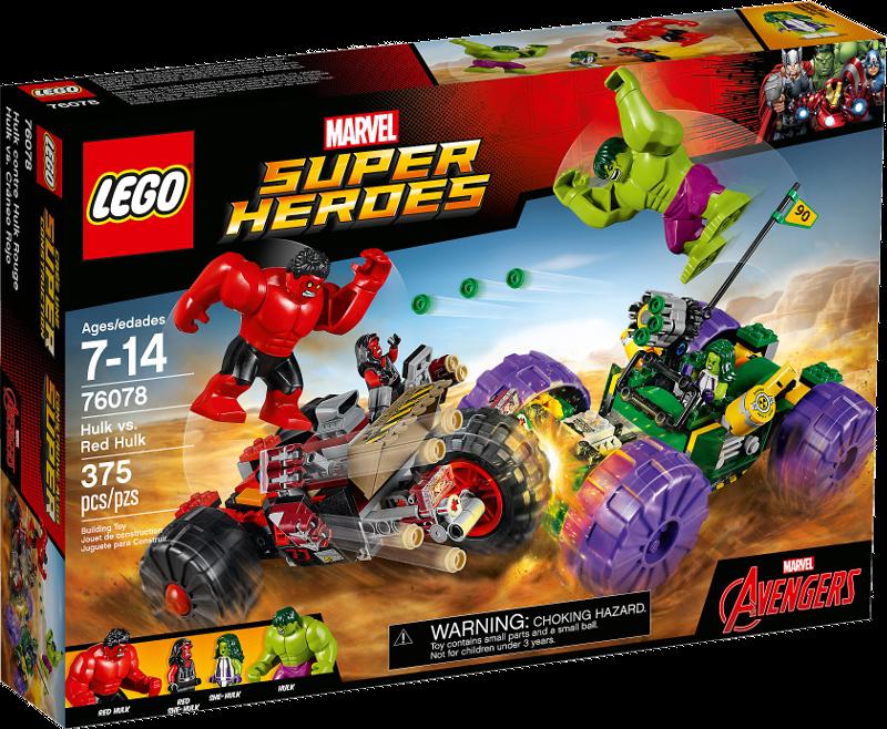 LEGO® Super Heroes 76078 - Hulk gegen Red Hulk