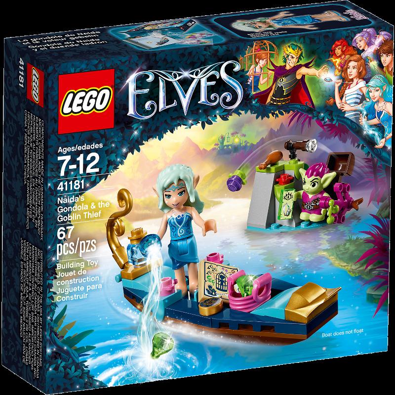 Lego Elves 41181 - Naidas Gondel und der diebische Kobold