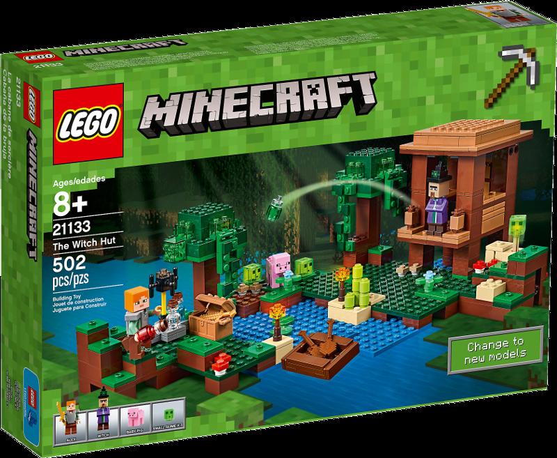 LEGO® Minecraft 21133 - Das Hexenhaus