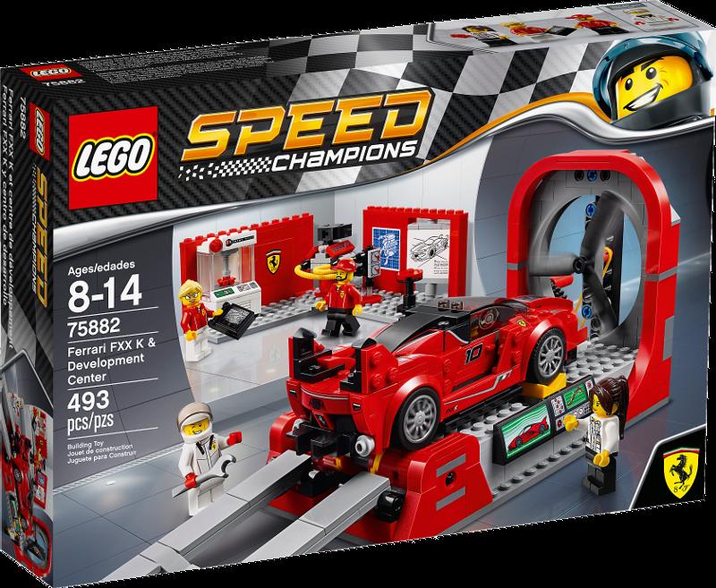 LEGO® Speed Champions 75882 - Ferrari FXX K & Entwicklungszentrum