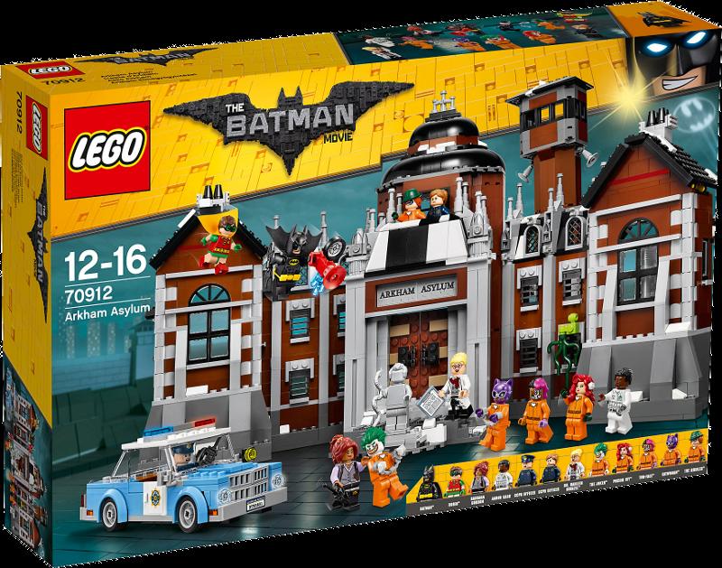 LEGO® Batman Movie 70912 - Arkham Asylum