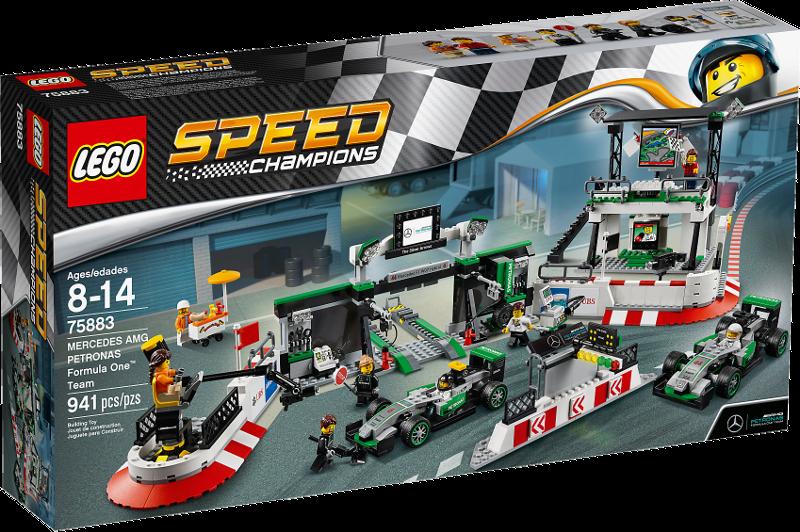 LEGO® Speed Champions 75883 - Mercedes AMG Petronas Formula One™ Team