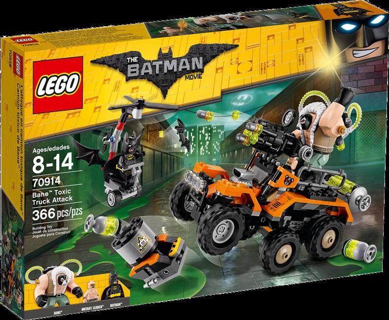 LEGO® Batman Movie 70914 - Der Gifttruck von Bane