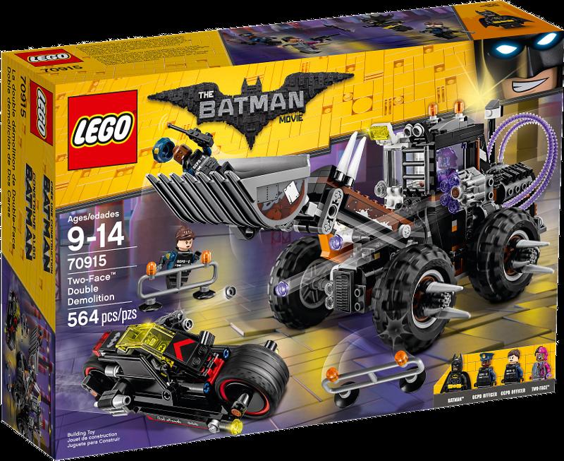 LEGO® Batman Movie 70915 - Doppeltes Unheil durch Two-Face