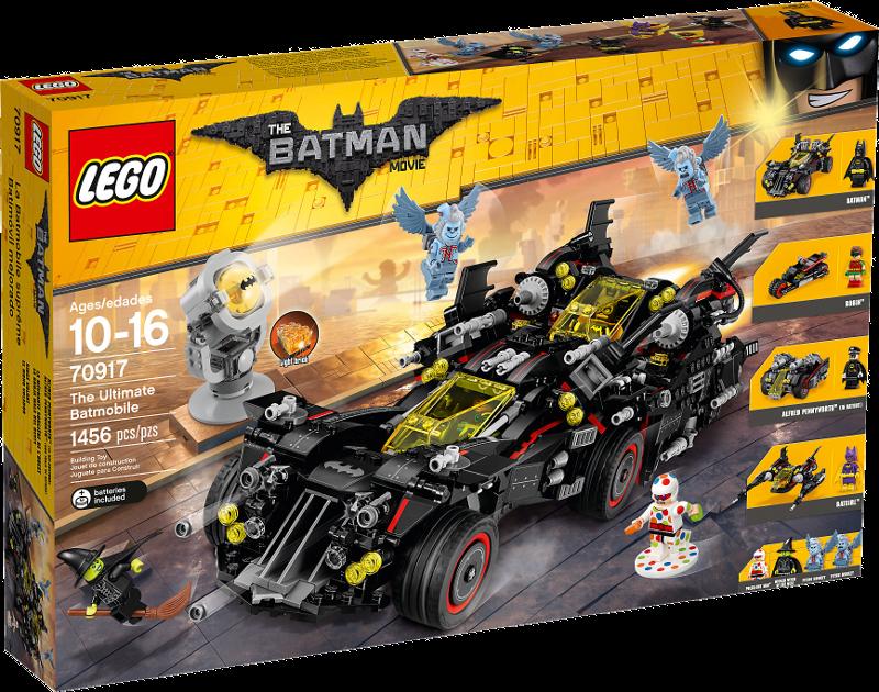 LEGO® Batman Movie 70917 - Das ultimative Batmobil