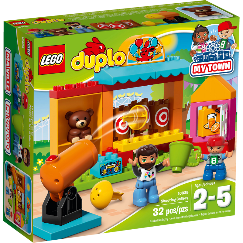 LEGO® DUPLO® 10839 - Wurfbude