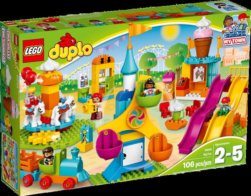 LEGO® DUPLO® 10840 - Großer Jahrmarkt