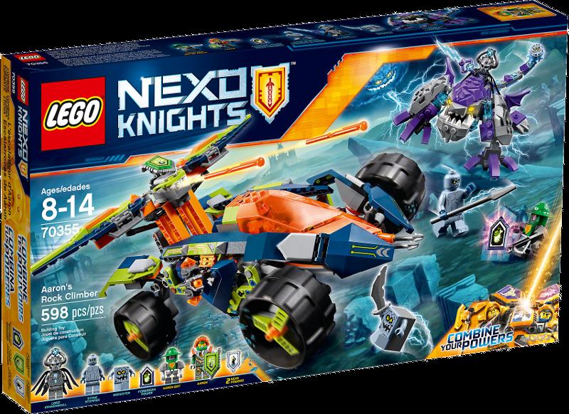 LEGO® NEXO KNIGHTS™ 70355 - Aarons Klettermaxe