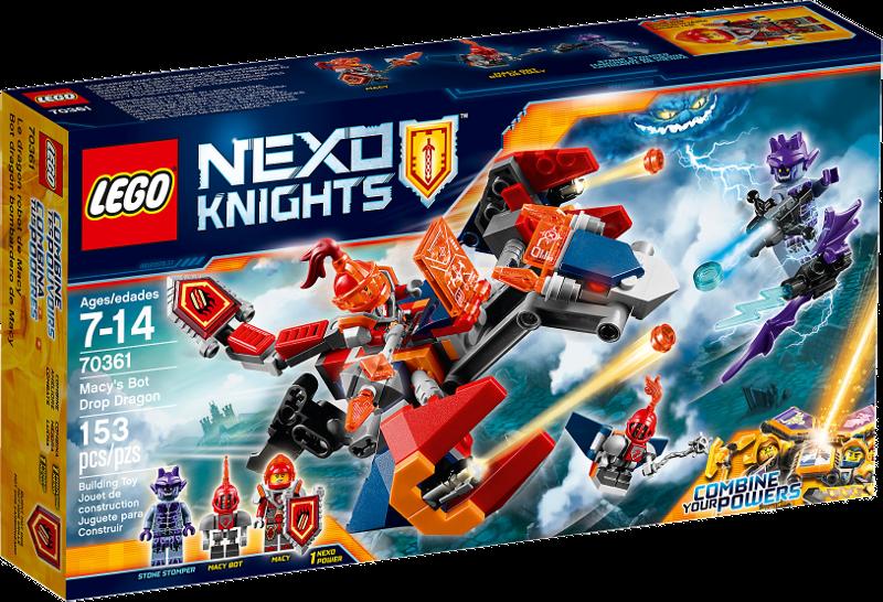 LEGO® NEXO KNIGHTS™ 70361 - Macys Robo-Abwurfdrache