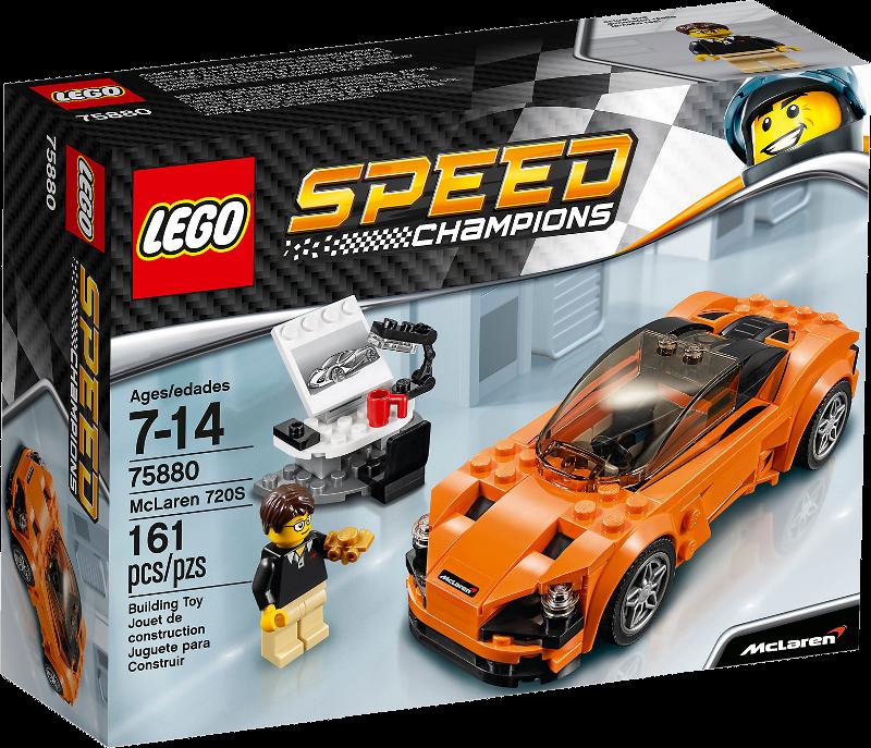 LEGO® Speed Champions 75880 - McLaren 720S
