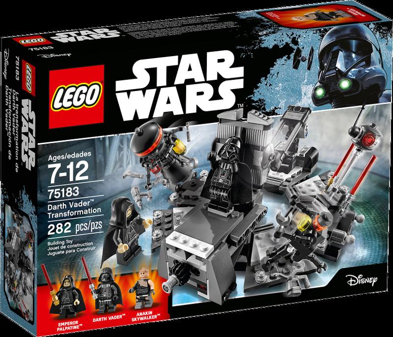 LEGO® Star Wars 75183 - Darth Vader™ Transformation