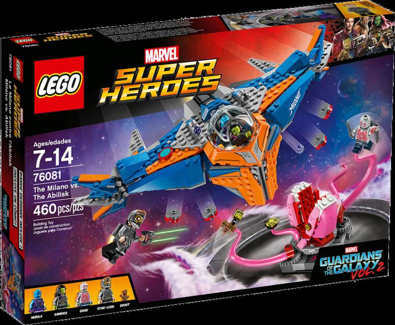 LEGO® Super Heroes 76081 - Die Milano gegen den Abilisk
