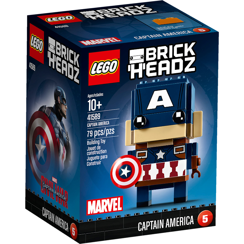 LEGO® BrickHeadz 41589 - Captain America
