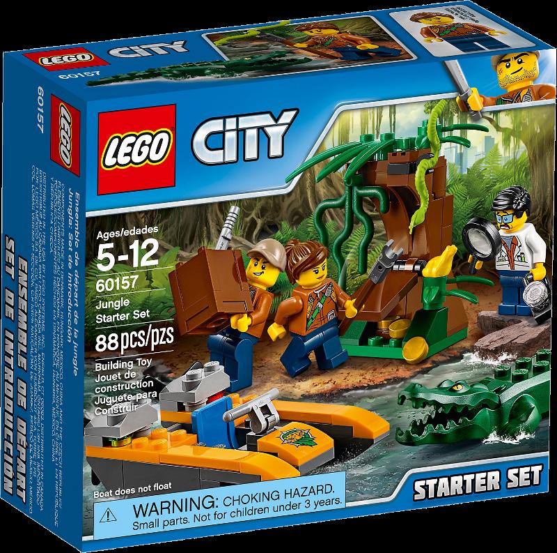 LEGO® City 60157 - Dschungel-Starter-Set