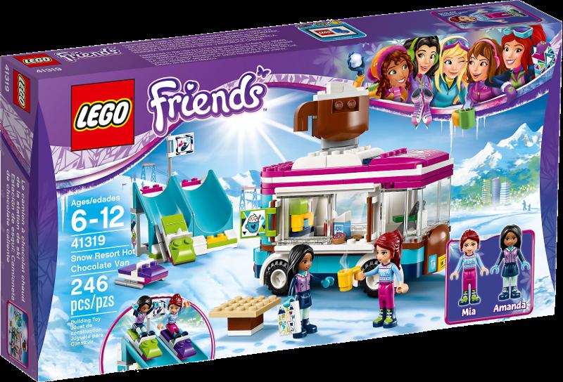 LEGO® Friends 41319 - Kakaowagen am Wintersportort