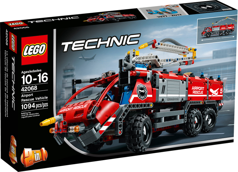 LEGO® Technic 42068 - Flughafen-Löschfahrzeug