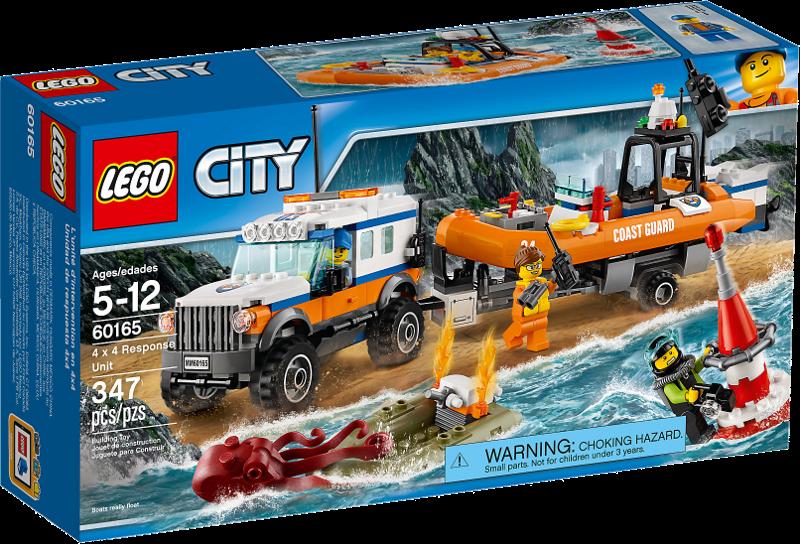 LEGO® City 60165 - Geländewagen mit Rettungsboot