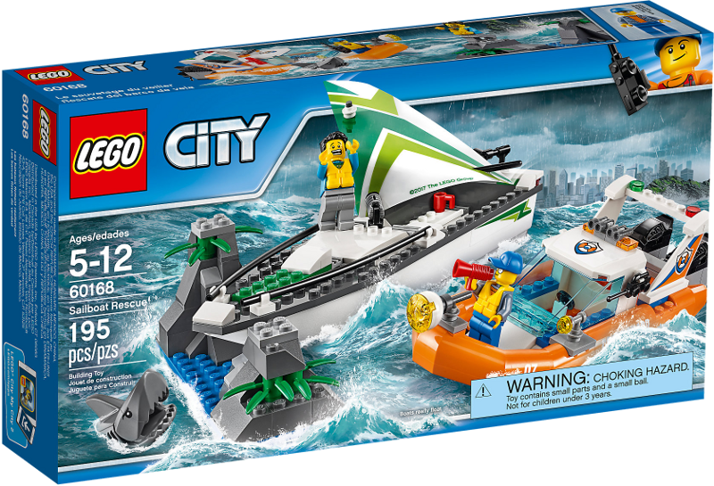 LEGO® City 60168 - Segelboot in Not