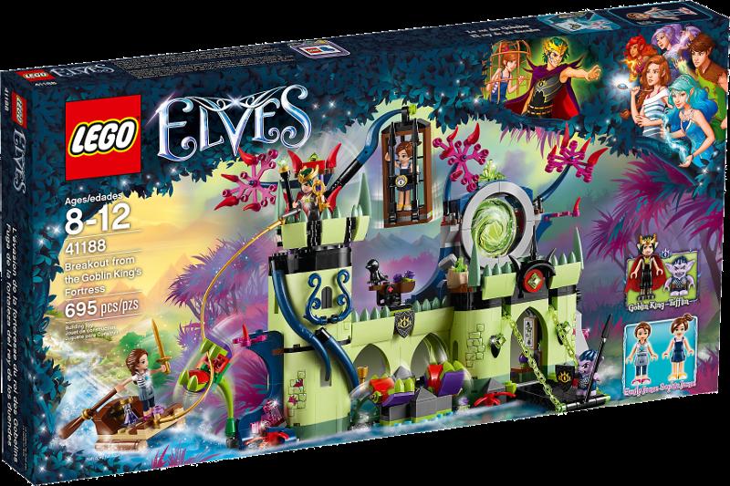 LEGO® Elves 41188 - Ausbruch aus der Festung des Kobold-Königs