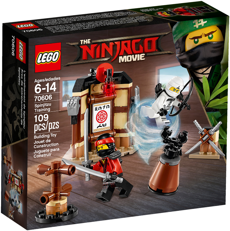 LEGO® NINJAGO® Movie 70606 - Spinjitzu-Training