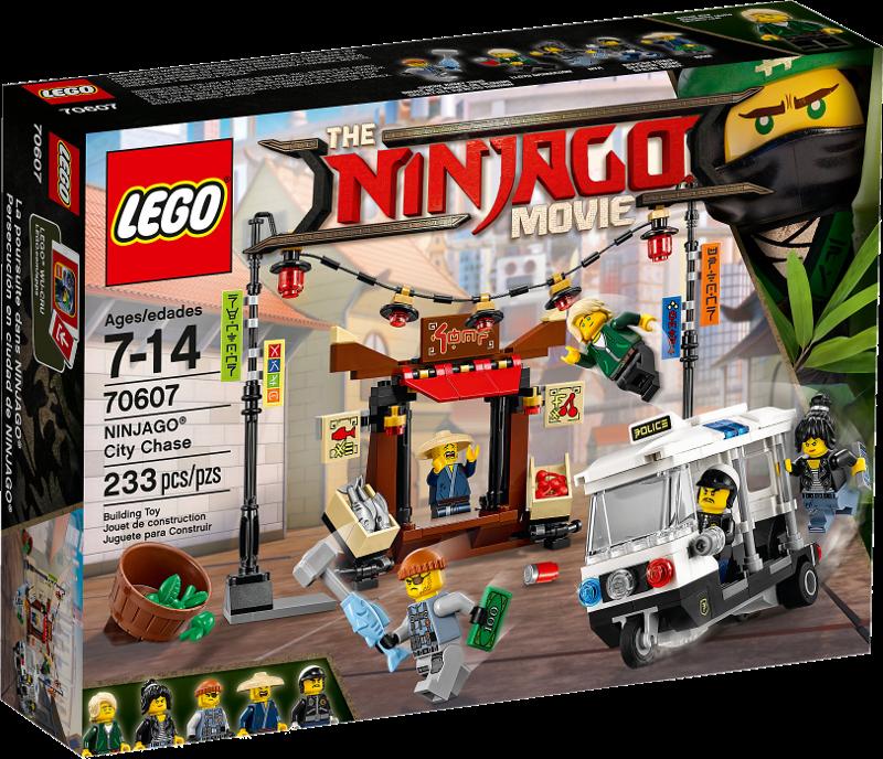 LEGO® NINJAGO® Movie 70607 - Verfolgungsjagd in NINJAGO® City