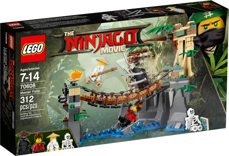 LEGO® NINJAGO® Movie 70608 - Meister Wu's Wasser-Fall